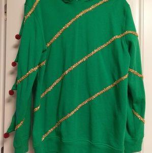 Christmas Tree Sweatshirt/Ugly Sweater